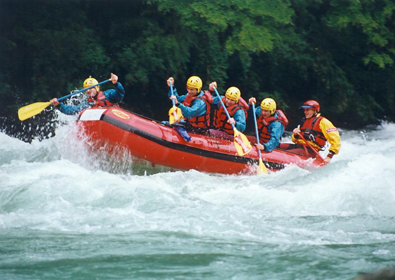 Rafting Manso Inferior