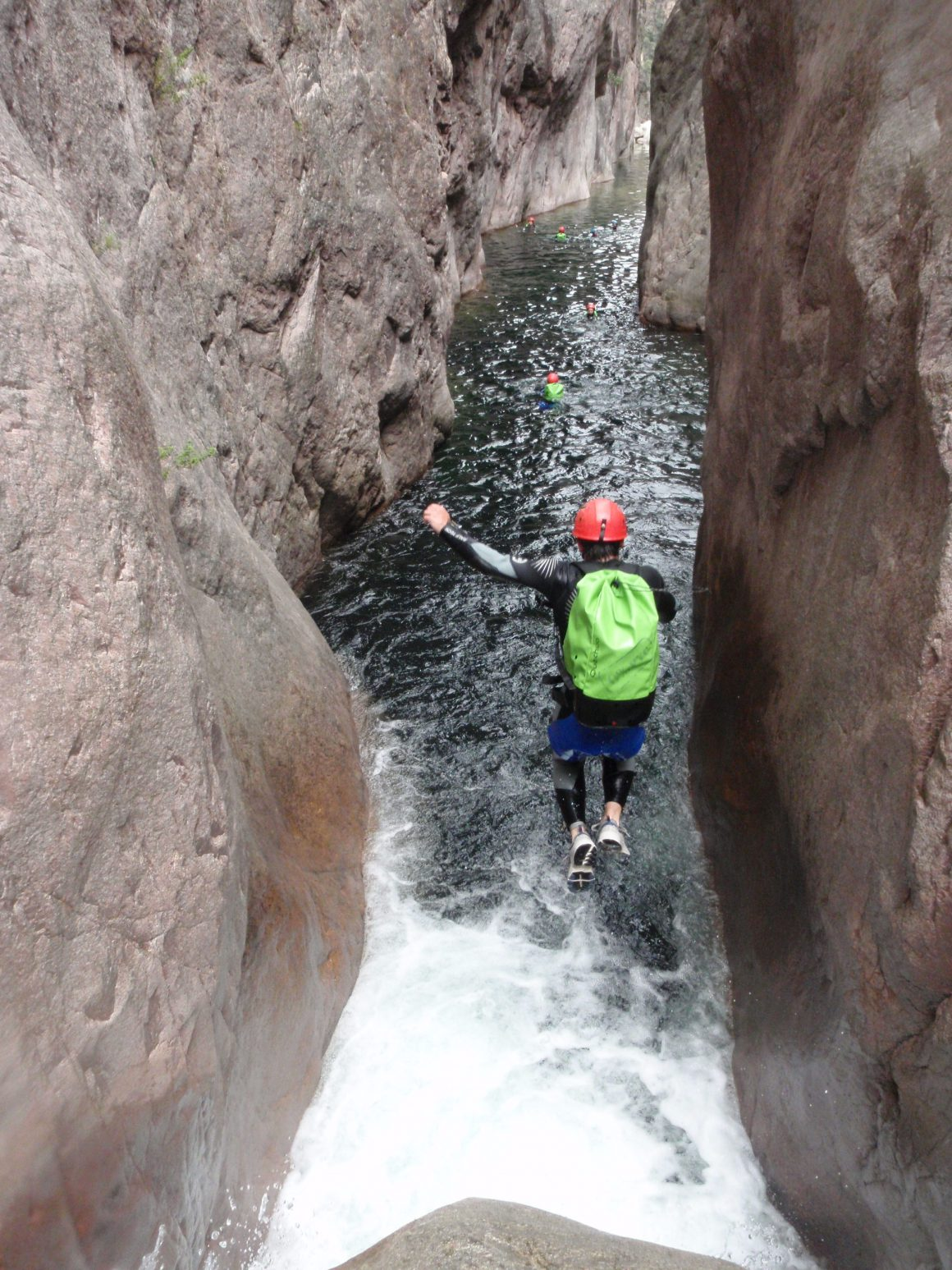 Canyoning Cascada la Virgen