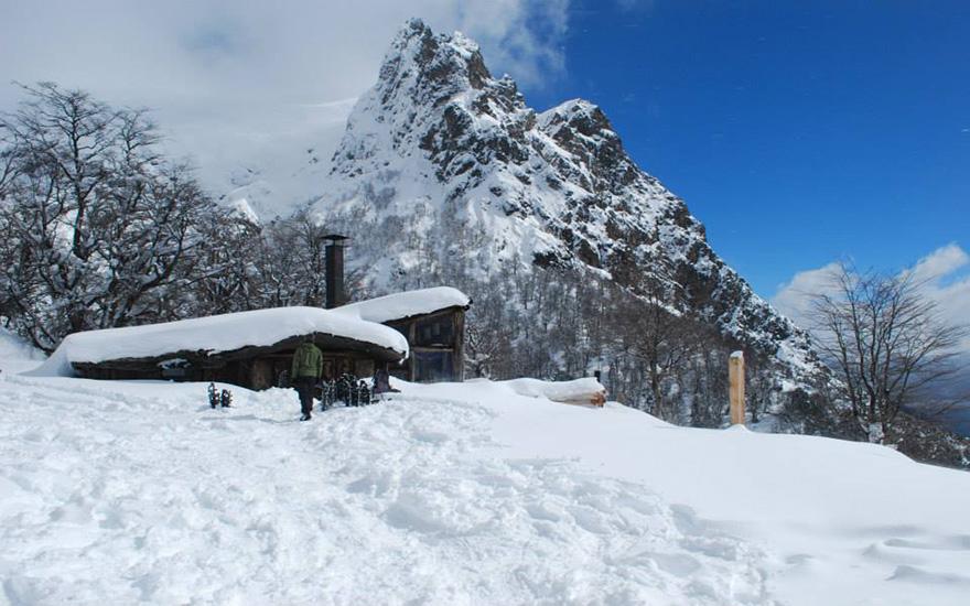 Raquetas en Cerro Lopez Roca Negra